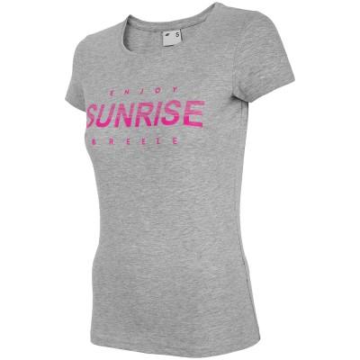Дамска Тениска 4F TSD015 Grey