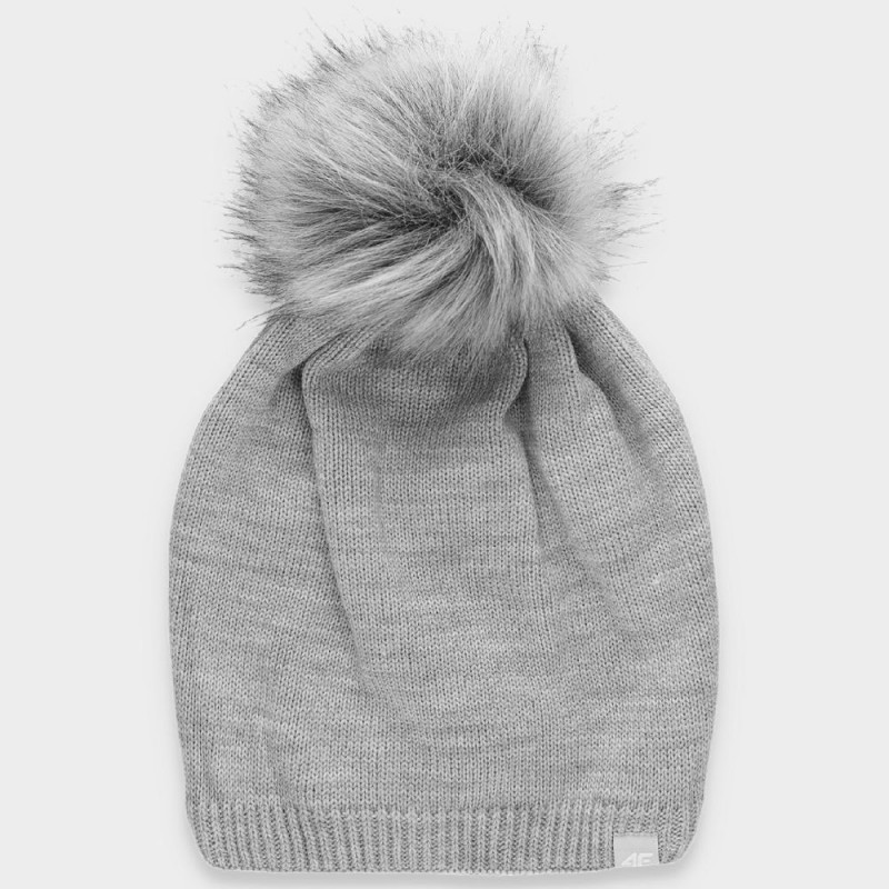 Зимна Шапка 4F H4Z19-CAD008 Cold White Grey