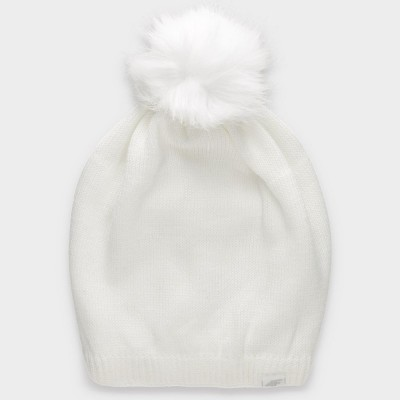 Зимна Шапка 4F H4Z19-CAD008 White