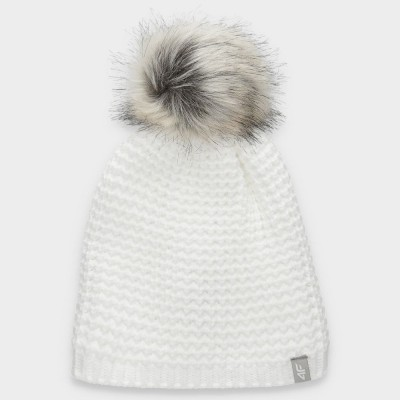 Зимна Шапка 4F H4Z19-CAD010 White