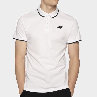 Мъжка Тениска с Яка 4F TSM024 White