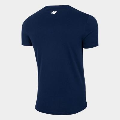 Мъжка Тениска 4F H4L21-TSM021-31 Navy
