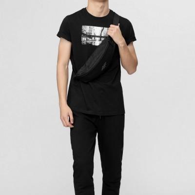 Мъжка Тениска 4F H4L21-TSM025-20 Black