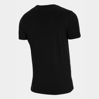 Мъжка Тениска 4F H4L21-TSM060-20 Black