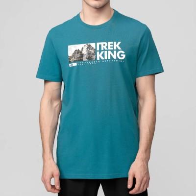 Мъжка Тениска 4F H4L21-TSM060-46 Teal