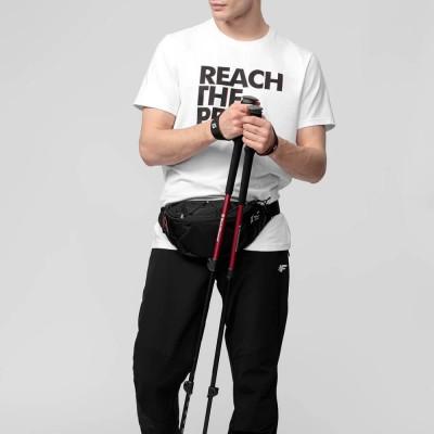Мъжка Тениска 4F H4L21-TSM061-10 White