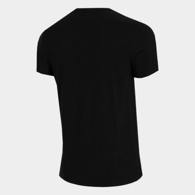 Мъжка Тениска 4F H4L21-TSM061-20 Black