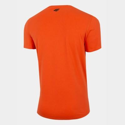 Мъжка Тениска 4F H4L21-TSM061-70 Orange