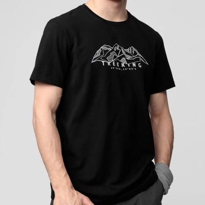 Мъжка Тениска 4F H4L21-TSM062-20 Black