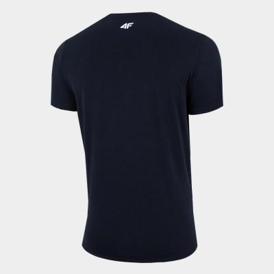 Мъжка Тениска 4F H4L21-TSM062-30 Navy