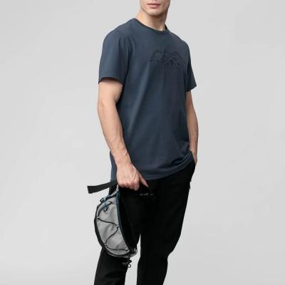 Мъжка Тениска 4F H4L21-TSM062-32 Denim