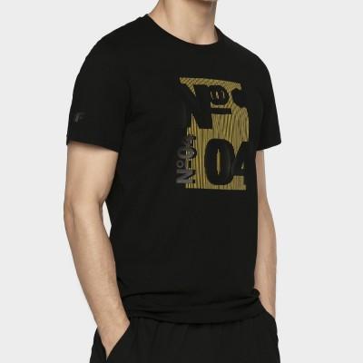 Мъжка Тениска 4F TSM011 Black