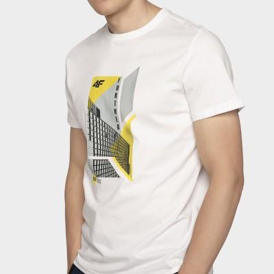 Мъжка Тениска 4F TSM022 White