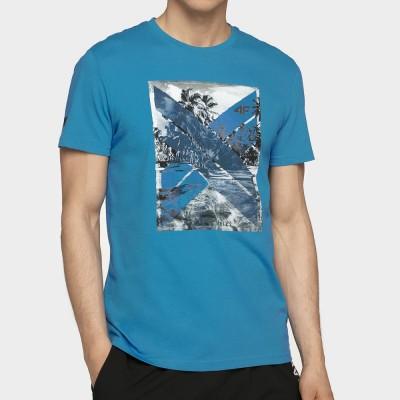Мъжка Тениска 4F TSM025A Denim
