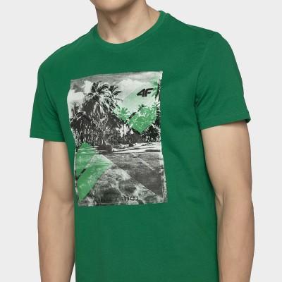 Мъжка Тениска 4F TSM025A Green
