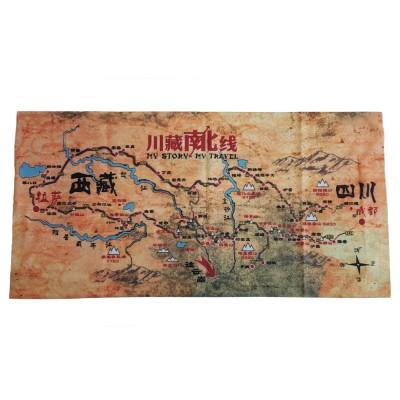 Мултифункционална Кърпа Map