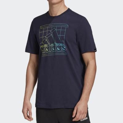 Мъжка Тениска Adidas Retro Media Logo GD5904
