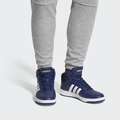 Мъжки Кецове Adidas Hoops 2.0 Mid B44663