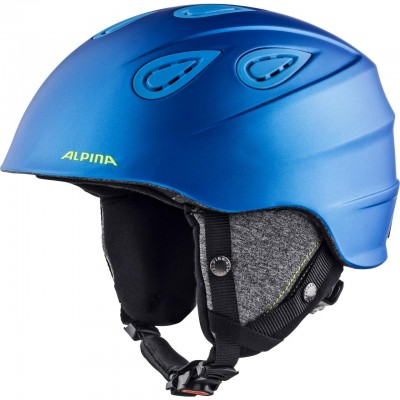 Каска Alpina Grap 2.0 Blue Neon Y Matt