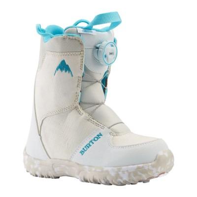 Детски Сноуборд Обувки Burton Grom Boa White