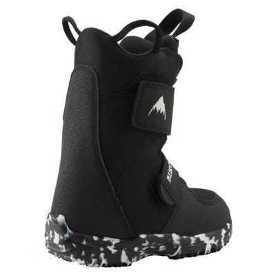 Детски Сноуборд Обувки Burton Mini-Grom Black