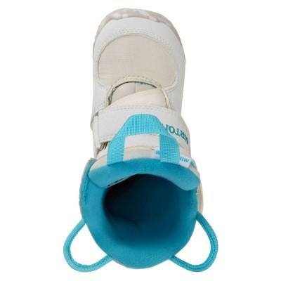 Детски Сноуборд Обувки Burton Mini-Grom White