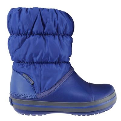 Crocs Blue Light Gray Winter Puff 14613-4BH