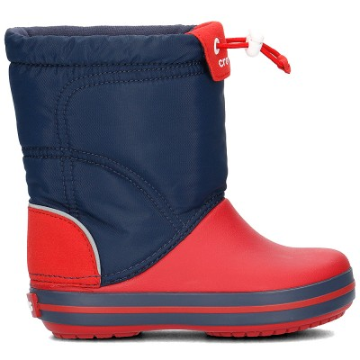 Crocs Navy Red Crockband Lodge Point Boot K
