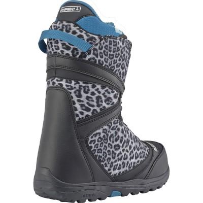 Дамски Сноуборд Обувки Burton Starstruck BOA Black / Snow Leopard