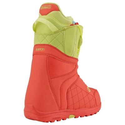 Burton Дамкси Сноуборд Обувки Mint Coral Yellow