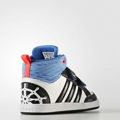 Детски Кецове Adidas Hoops CMF Mid INF CG5737